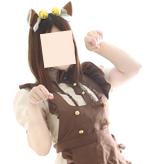 猫耳メイド(ブラウン)